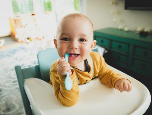 Baby zelf leren eten