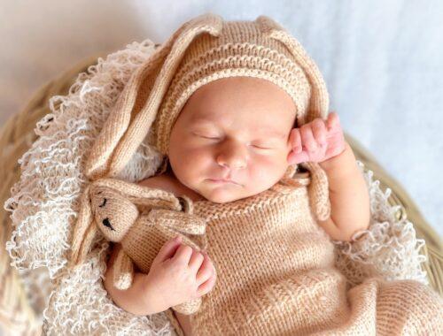 Baby kleden voor slapen