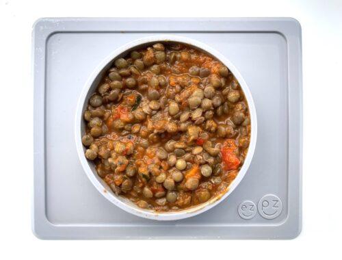 Recept linzen groentestoof baby