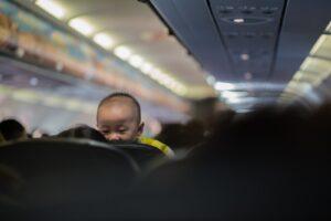 tips voor vliegen met een baby